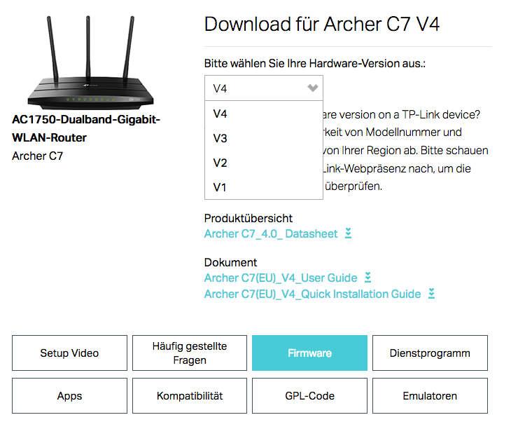 Archer C7 V 4 0 - Aachen - Freifunk Forum